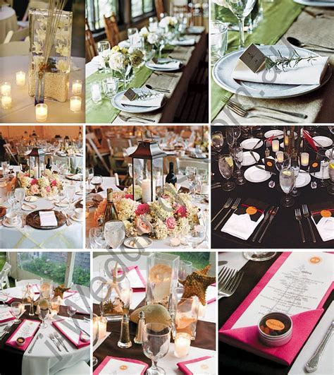 i Weddings: More inspirations for your wedding table