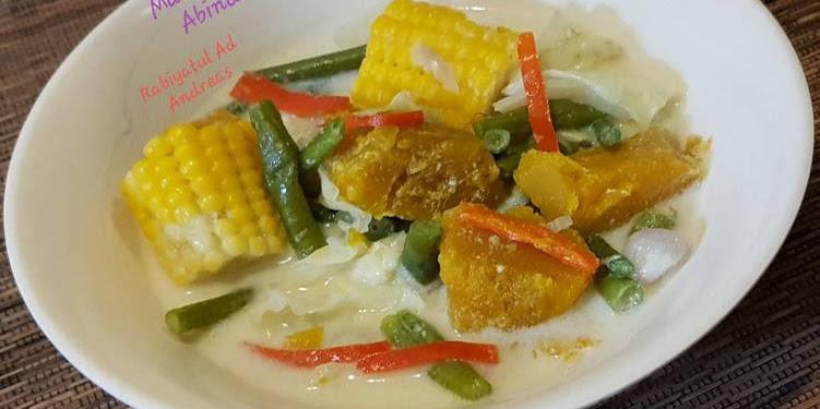Resep Sayur Buah Labu Kuning (Gangan Waluh Khas Banjar) Oleh Rabiyatul Adawiyah