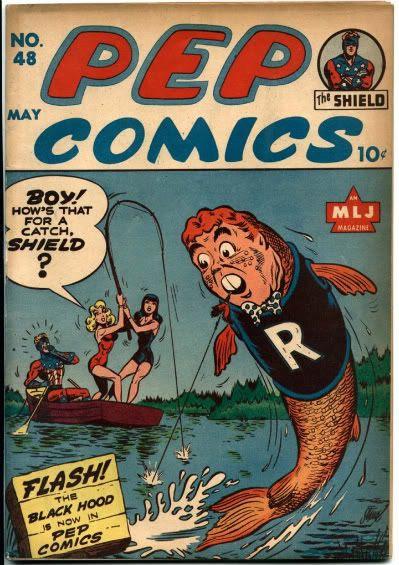 Archie Betty Veronica Shield fish