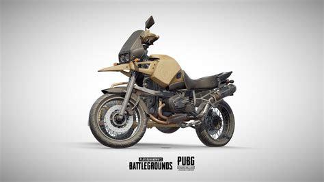 pubg motorcycle official  model  karol miklas