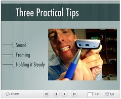 Three Practical Tips for Video Recording