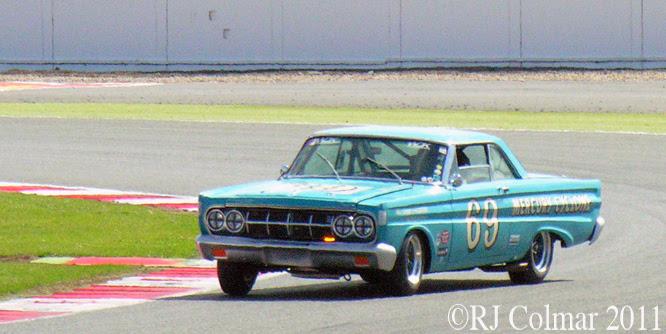 Roger Willis, Mercury Cyclone, Silverstone Classic