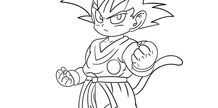 Dragon Ball Z Characters Coloring Pages