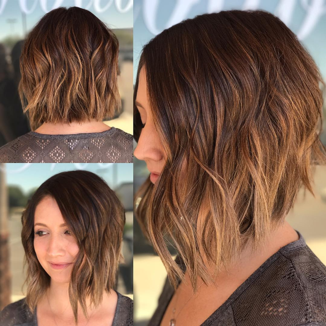 Hairstyles: Bob Hairstyles Layered Bob Haircut Women 2018