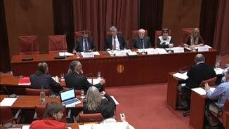 Albert Batlle ha comparegut a la comissió d'Interior del Parlament