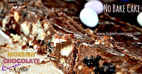 Tickle My Senses: 'No Bake', 'Egg Free' Chocolate Crunch