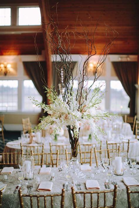 Long Beach Island Wedding   Bridal~Tall centerpieces