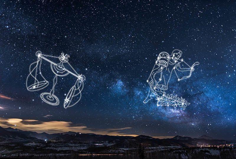 Sternzeichen Kombination