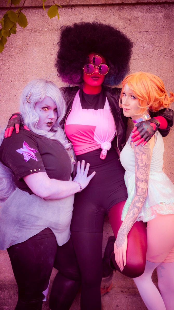 Crystal Gems - Punky Versions! (Find waaaay more pictures here!) Garnet: Schpog Pearl: Cira Las Vegas Amethyst: Prinzessin Dachi