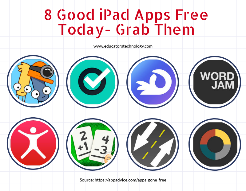 8 Good iPad Apps Free Today- Grab Them