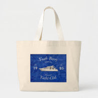 Yacht Club Yeah Buoy Jumbo Tote Bag
