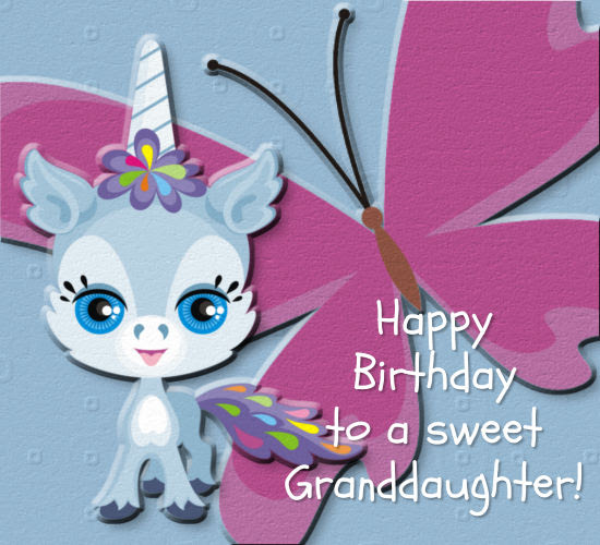 Birthday Wishes For Granddaughter Free Extended Family Ecards 123