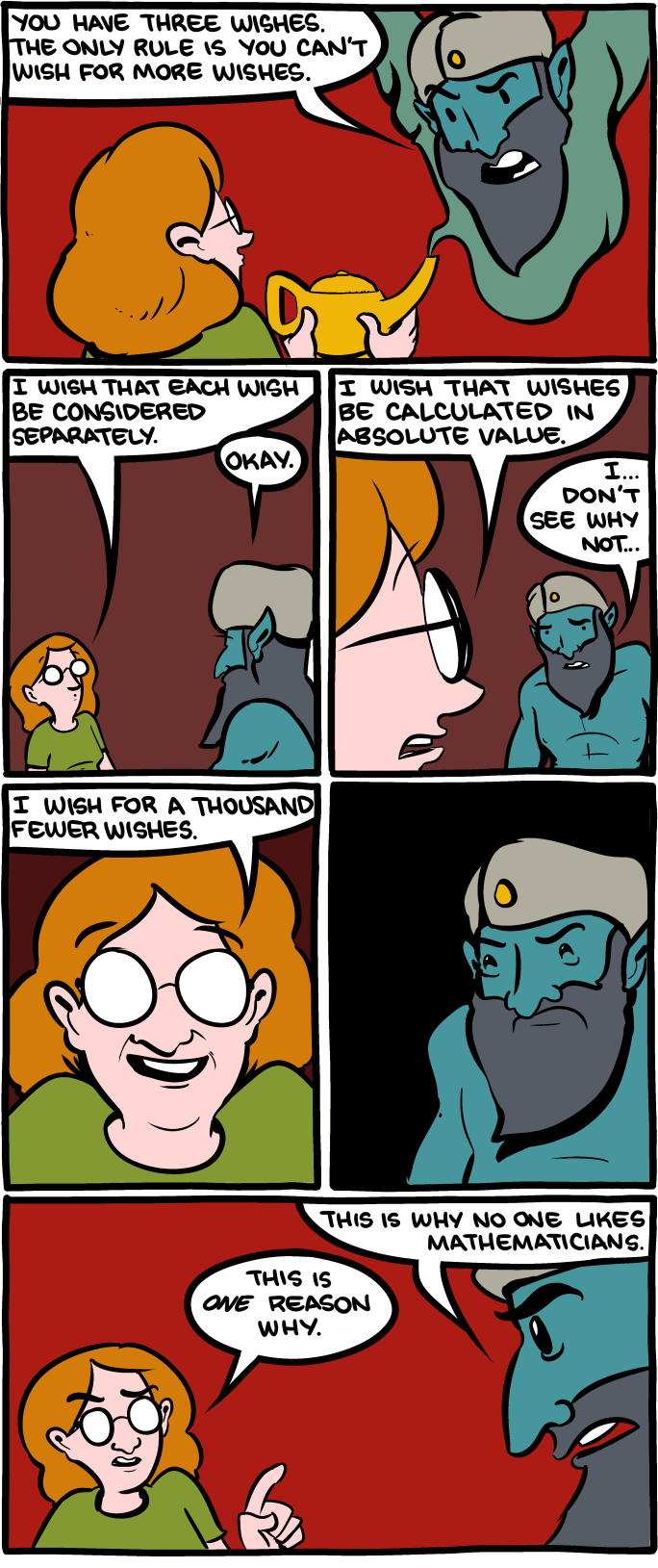 More SMBC for you. Because.