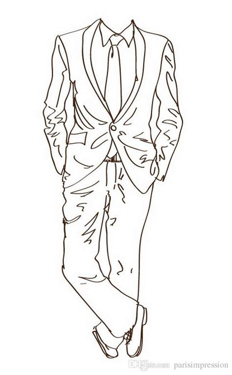 tuxedo drawing suited man     ayoqq