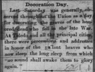 Decoration Day 1868