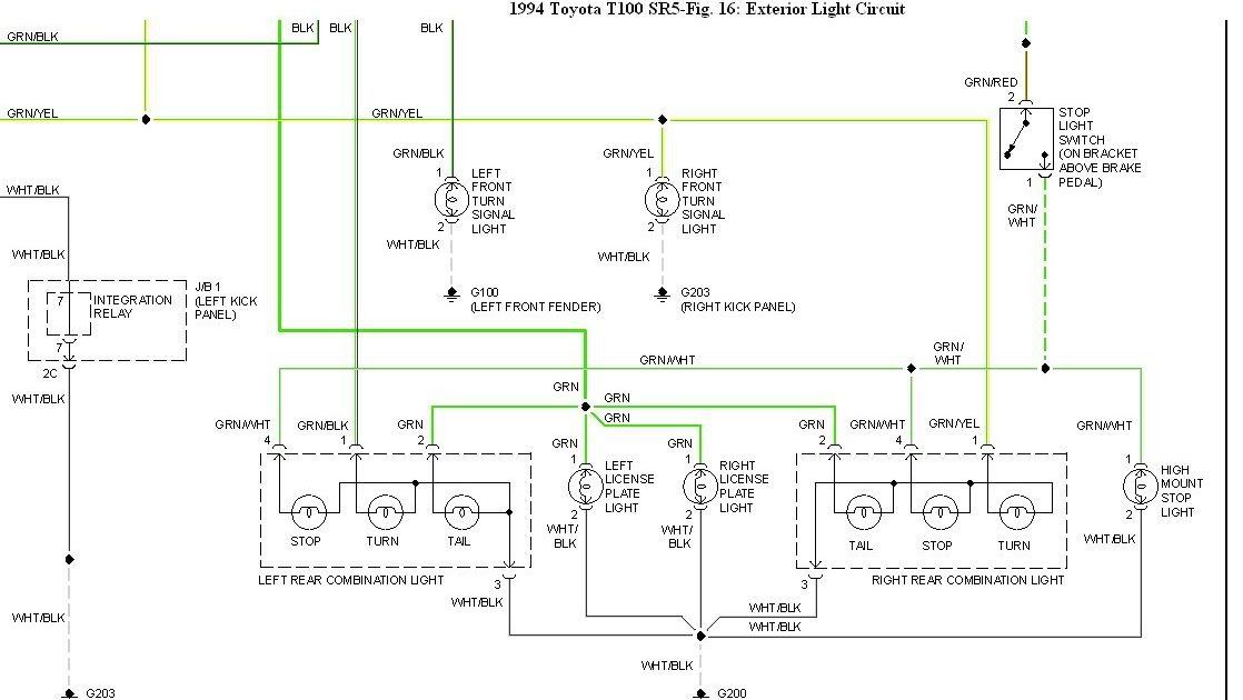 2011 Toyota Tacoma Wiring Diagrams