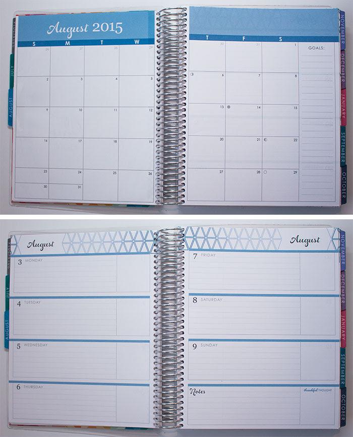 Planner Preview | Erin Condren 2015 - 2016 Life Planners - Pretty ...