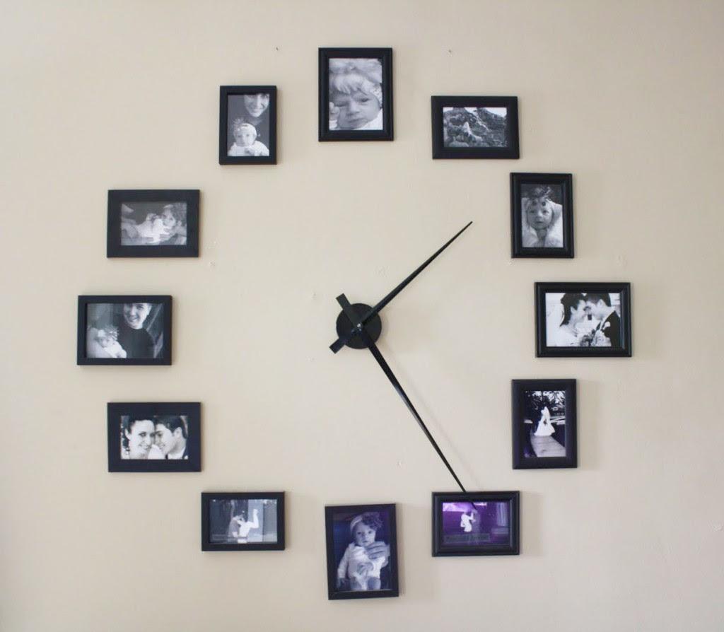 Diy Photo Frame Clock 1mhowtocom