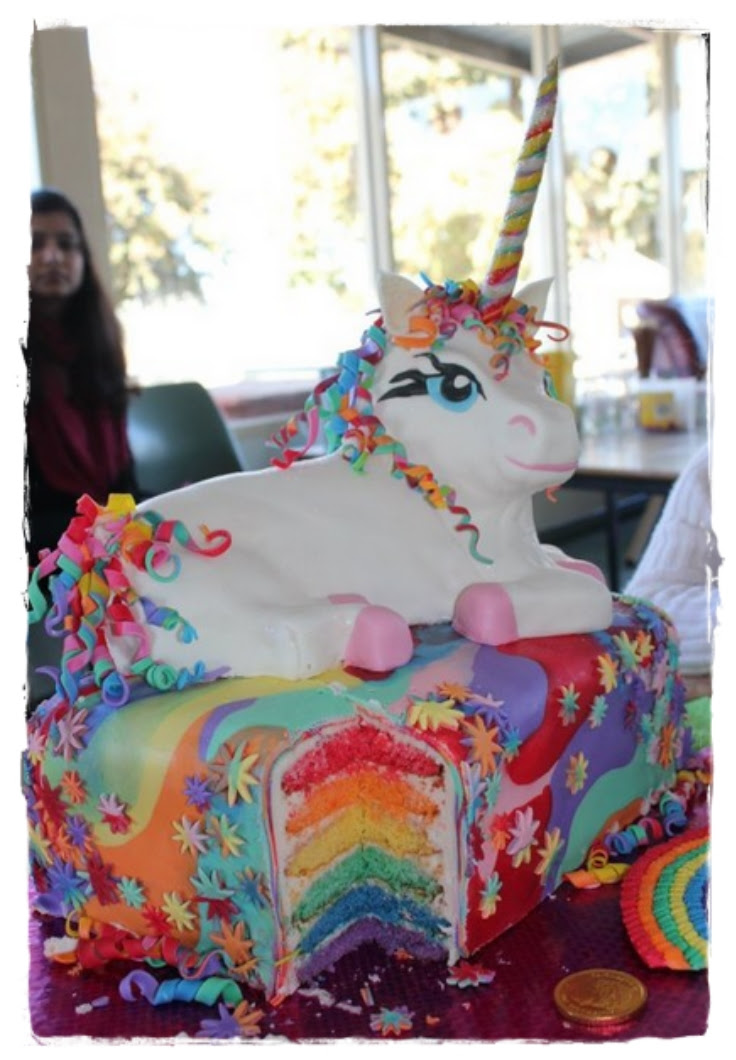 A Unicorn Birthday Cake Spoonful Of Butter