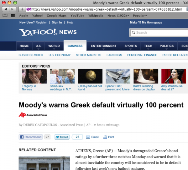 SEO-friendly URLs at Yahoo! News