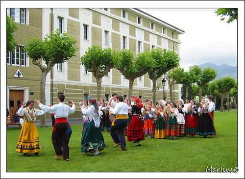 Fiesta popular. Cantabria