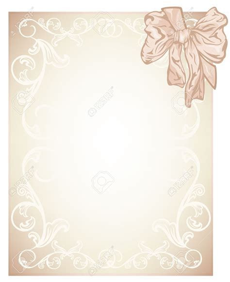 Blank Wedding Invitation Card Designs