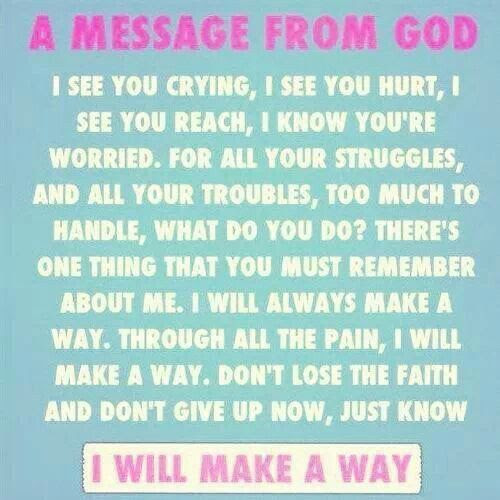 Quotes God Will Make A Way