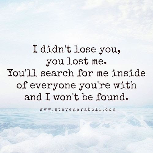 Pictures Of You Lost Me Quotes Kidskunstinfo