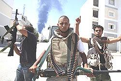 Miliziani a Tripoli