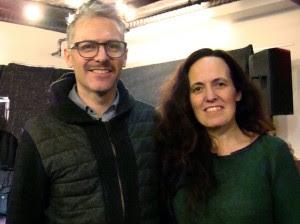 John Munnelly & Grammy Award Winner Susan McKeown at Irish Center NYC