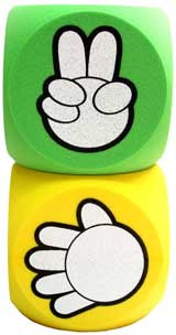 剪刀石頭布 猜拳 rock paper scissors stone 骰子 dice cubes