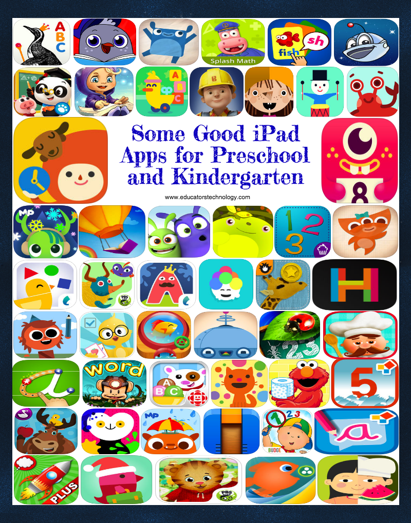 50 Good iPad Apps for Preschool and Kindergarten