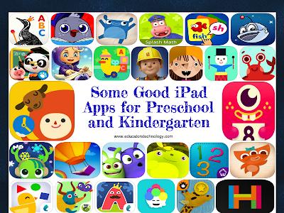 50 Good iPad Apps for Preschool and Kindergarten