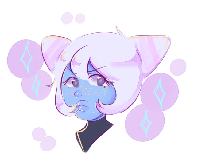 i caught up on steven universe and i love her : )