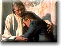 Image result for Jesus Holding Someone