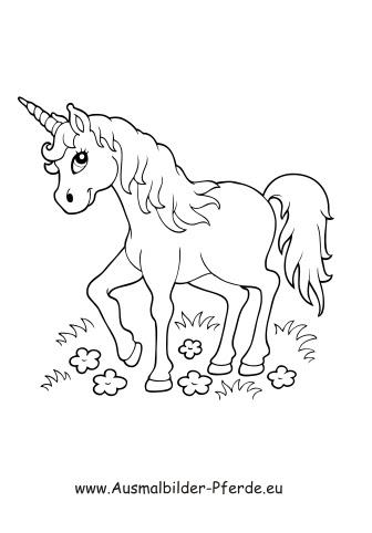 Ausmalbilder Pferd 5 - Pferde Malvorlagen