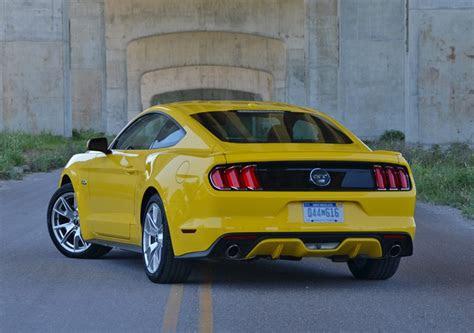 ford mustang gt  anniversary edition review