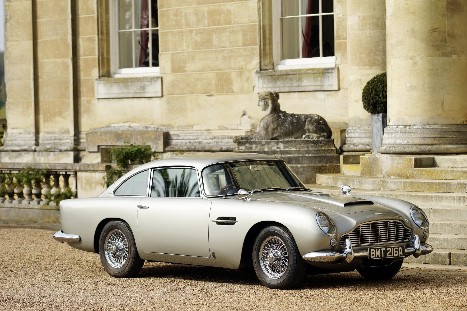 Aston Martin Works Prepares Bond Car For Skyfall Classic Car Magazine Classic Car Magazine