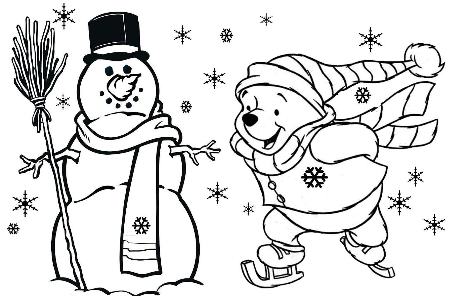 Christmas Coloring Pages For Kindergarten Students at ...