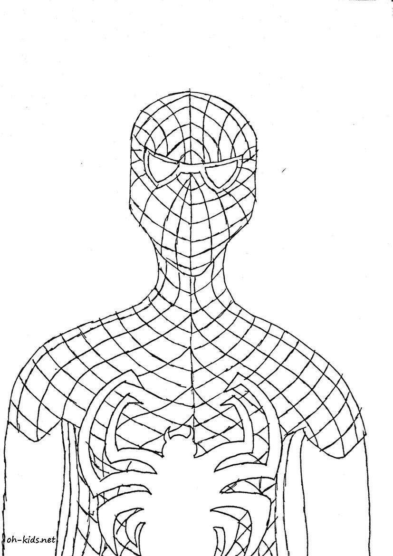 Dessus Coloriage A Imprimer Spiderman 4 | Imprimer et Obtenir une Coloriage Gratuit Ici
