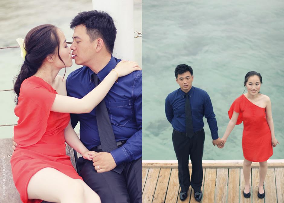 Chinese Couple, Shangri-La Mactan Resort