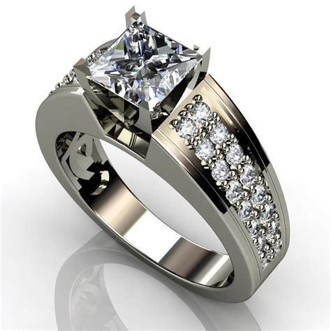 Black Titanium Rings for Women   Strength and Durability