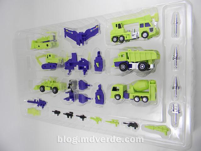 Transformers Devastator (Constructicons) - G1 Encore - empaque