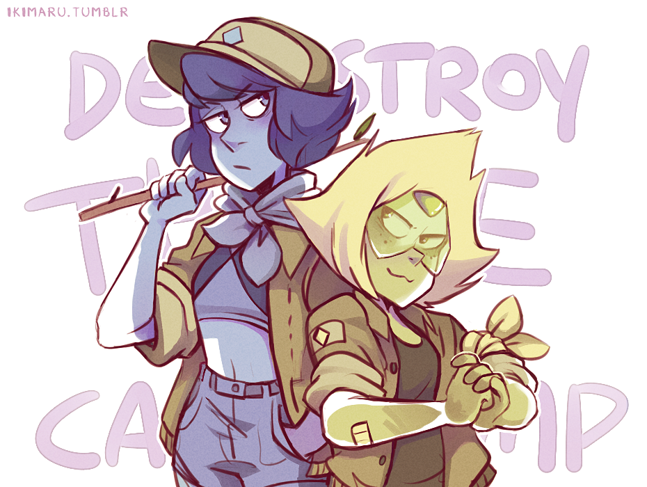 (because of when Peridot said Percy and Pierre could destroy the camp together lmao))