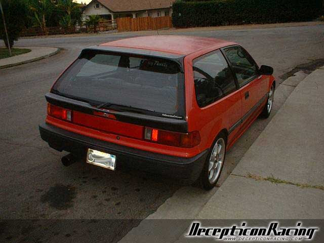 1988 Honda Civic Fuse Box