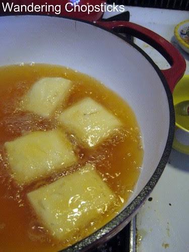 Dau Hu Chien Sot Ca Chua (Vietnamese Fried Tofu with Tomato Sauce) 8