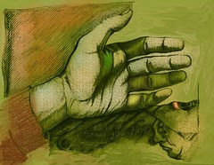 EDM Challenge # 10 -  draw a hand