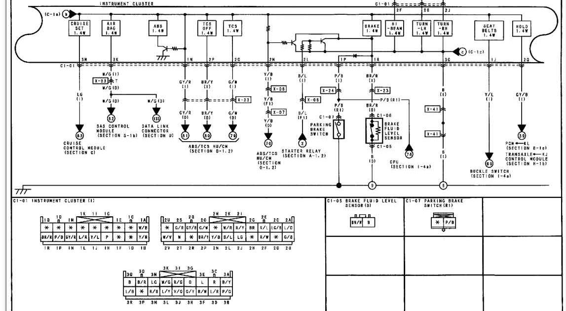 Mazda Protege Diagram Wiring Schematic | schematic and ...