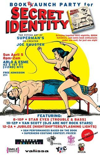 Secret Identity party
