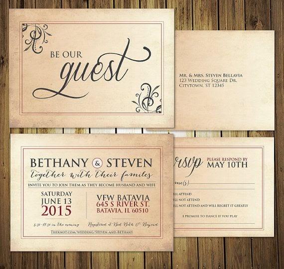 Different Wedding Invitations Blog: Etiquette Wedding